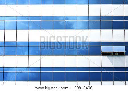 Reflex Of S    Window Terrace   Bangkok Thailand