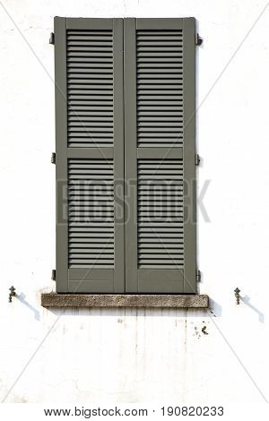 Shutter Europe  Italy  Lombardy        The Milano Old   Window