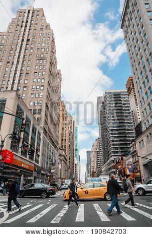 Streets Of Manhattan.