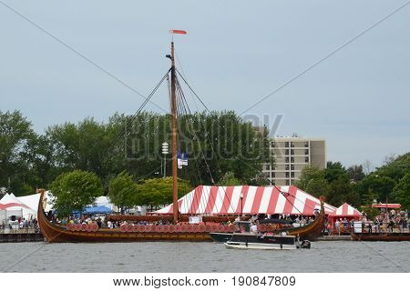 Tall Ship Celebration In Bay City, Mi 2016