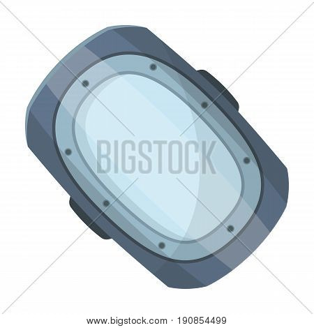 knee pad.Paintball single icon in cartoon style vector symbol stock illustration .