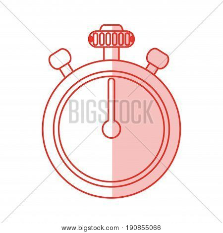 chronometer flat illustration icon vector design graphic shadow