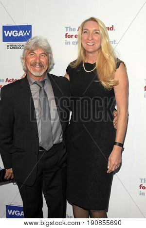 LOS ANGELES - JUN 11:  Kurt Lott, Jane Austin at the Actors Fund's 21st Annual Tony Awards Viewing Party at the Skirball Cultural Center on June 11, 2017 in Los Angeles, CA