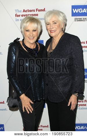 LOS ANGELES - JUN 11:  Lorna Luft, Betty Buckley at the Actors Fund's 21st Annual Tony Awards Viewing Party at the Skirball Cultural Center on June 11, 2017 in Los Angeles, CA