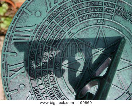 Sundial Close Up