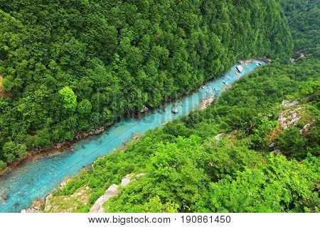 Tara Canyon in Montenegro, Europe