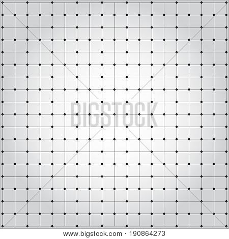 Vector pattern. Modern stylish texture. Repeating geometric tiles with dotted rhombus