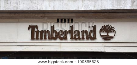 London Timberland Store Logo