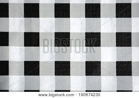 Close up Scott pattern concrete texture background, white and black