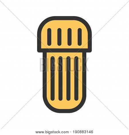 Amalgam, capsule, care icon vector image. Can also be used for dentist equipment. Suitable for mobile apps, web apps and print media.