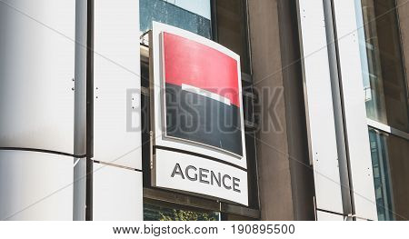 Societe Generale Agency In La Defense, Paris