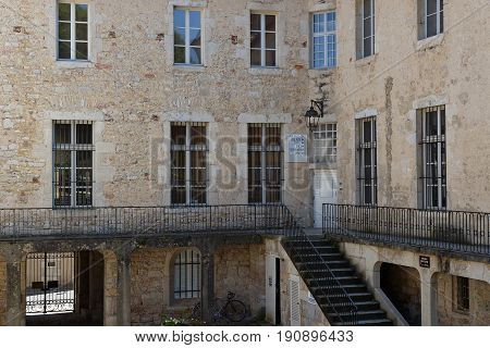 DOLE France May 25 2017 : Convent of Visitation cloisterin Dole