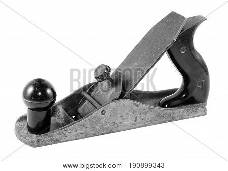 An old plane - joiner's tool .