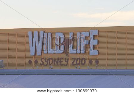 SYDNEY AUSTRALIA - MAY 30, 2017: Wild Life zoo. Wild Life zoo is one of the most popular tourist attractions in Sydney.