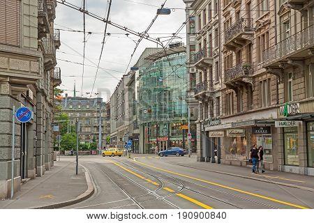 Inner City Of Zurich, Switzerland