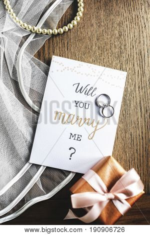 Will You Marry Me Proposing Card Marriage