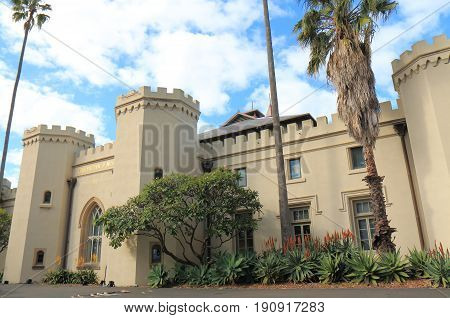 SYDNEY AUSTRALIA - MAY 31, 2017: Conservatorium of Music Sydney Australia. Conservatorium of Music is one of the oldest and most prestigious music schools in Australia
