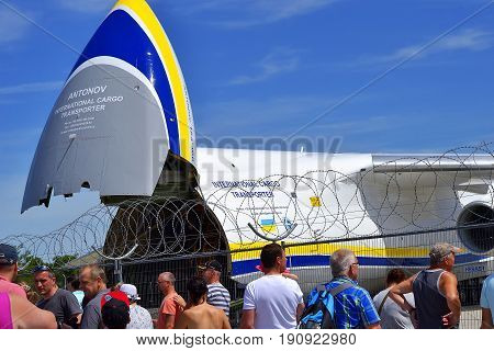 Celebration of the 90th anniversary of Leipzig-Halle Airport, exhibition, Germany, Leipzig-Halle Airport, 06/11/2017
