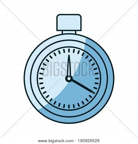 blue shading silhouette of measurer with stopcock vector illustration