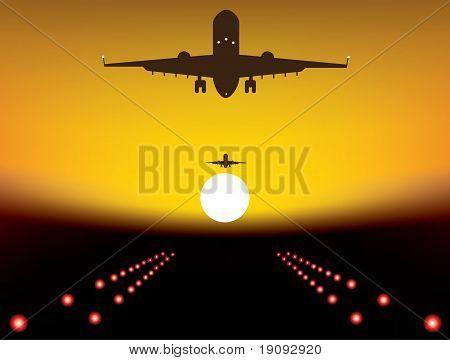 Landing Plane