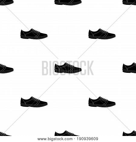 Blue men summer espadrilles . Summer comfortable shoes on the bare feet for everyday wear.Different shoes single icon in black pattern vector symbol stock web illustration.