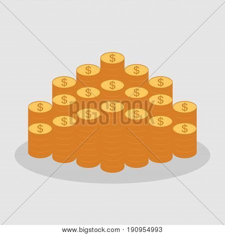 money icon the direction of money concept of success profit image income fully editable vector image