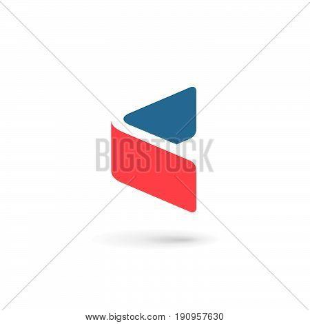 Letter C Arrow Logo Icon Design Template Elements