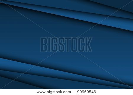 Abstract dark blue background diagonal lines vector illustration