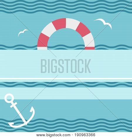Retro Underwater Pattern