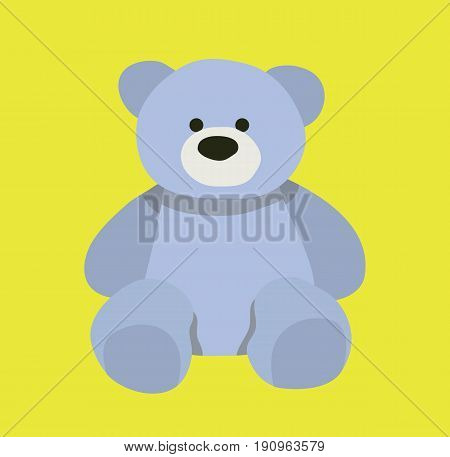Cute bear design. Teddy bear cartoon design. Vector stock.