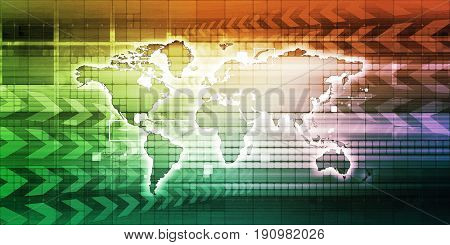 Global Communication from a Computer with a PC