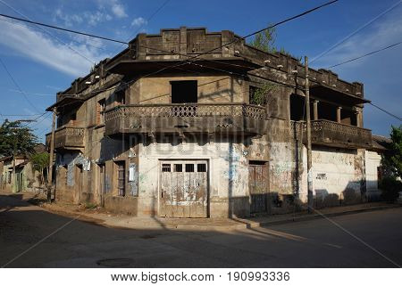 Casa del Diablo in the sleepy town of Mompox, Colombia