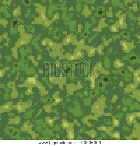 Marshy green camouflage texture background digital illustration