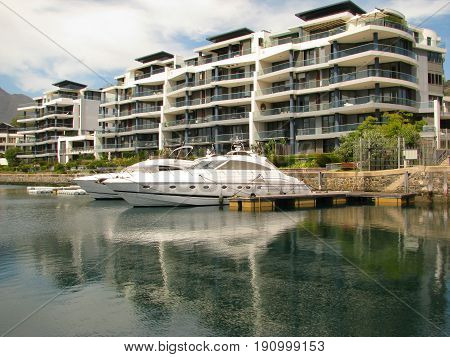 PART OF THE VICTORIA  AND ALFRED WATERFRONT, CAPE TOWN SOUTH AFRICA