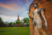 Wat Tra Phang Ngoen Temple at Sukhothai Historical Park, a UNESCO World Heritage Site in Thailand poster