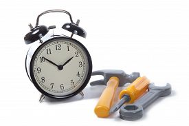 Alarm Clock With Tools