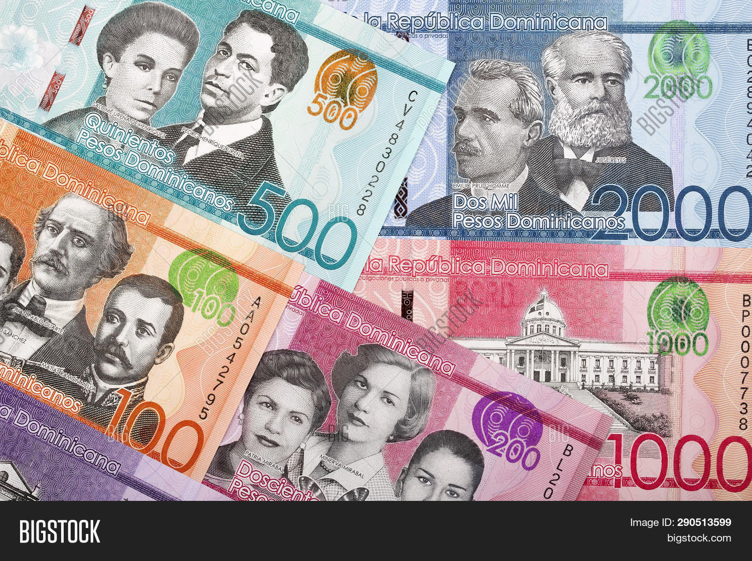 Money Dominican Image Photo Free Trial Stock