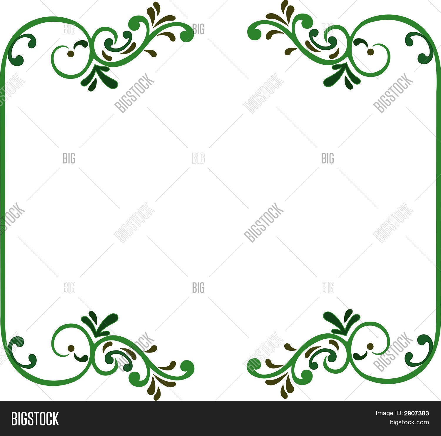 Nice Frame Vector & Photo (Free Trial) | Bigstock