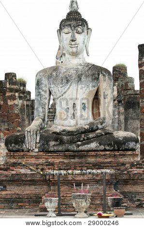 Buddhist statue in Sukhothai