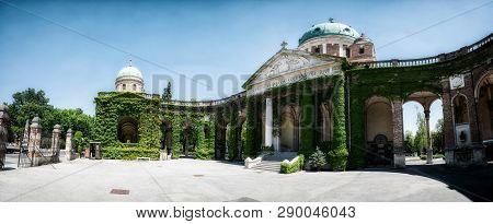The Mirogoj Cemetery In Zagreb, Croatia.