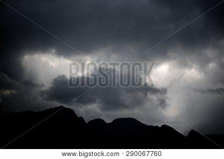 Peak in Tena Valley, Pyrenees in Spain.