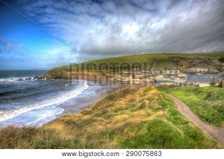 Challaborough South Devon Coast Village Near Burgh Island And Bigbury-on-sea On The South West Coast