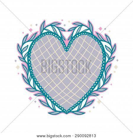 Sacred Mexican Spirit Color. Soul Symbol Religion. Decoration Emblem Holy Heart.sacramental Religion