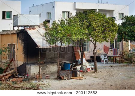 Poverty District In Kyrenia (girne) In Northern Cyprus.