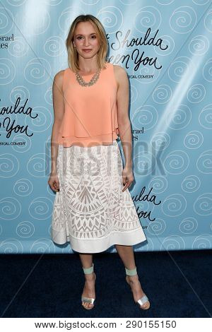 NEW YORK-APR 14: Actress Emily Padgett attends the Broadway opening night for 'It Shoulda Been You' at Brooks Atkinson Theatre on April 14, 2015 in New York City.