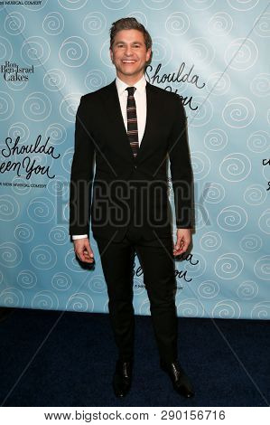 NEW YORK-APR 14: Actor David Burtka attends the Broadway opening night after party for 'It Shoulda Been You' at The Edison Ballroom on April 14, 2015 in New York City.