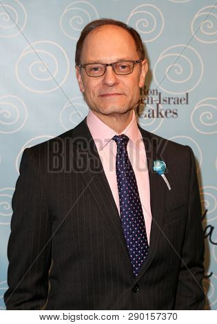 NEW YORK-APR 14: Director David Hyde Pierce attends the Broadway opening night after party for 'It Shoulda Been You' at The Edison Ballroom on April 14, 2015 in New York City.