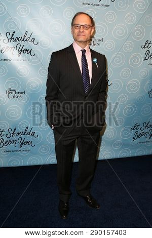 NEW YORK-APR 14: Director David Hyde Pierce attends the Broadway opening night for 'It Shoulda Been You' at The Edison Ballroom on April 14, 2015 in New York City.
