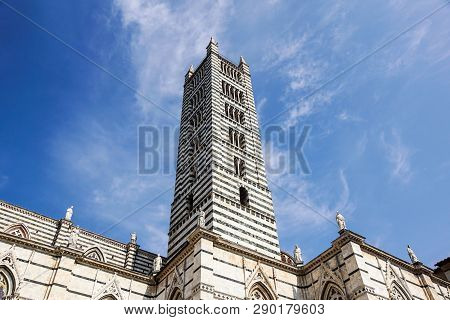Siena Cathedral . Is A Medieval Church, Now Dedicated To The Assumption Of Mary, Completed Between 1