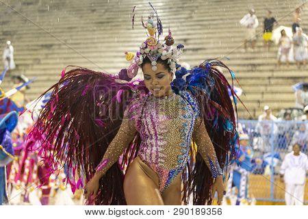 Rio, Brazil - March 01, 2019: Unidos Da Ponte With The
